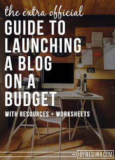 How to Launch a Blog on a Budget – Indie Crafts