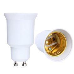 GU10 to E27 LED Light Lamp Bulb Converter Holder Adapter Socket Base