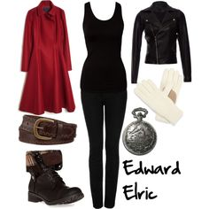 """Edward Elric"" by winterlake25 on Polyvore"