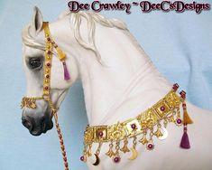 Arabian Horse Costume, Horse Costumes, Breyer Horses, Horse Stuff, Saddles, Tack, Miniature, Geek Stuff, Artisan