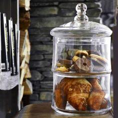 Masterclass Glasbehälter mit 2 Etagen in kuchenaufbewahrung bei Lakeland Deutschland
