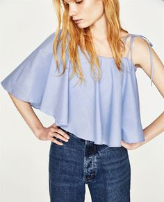 Image 2 of ASYMMETRIC TOP from Zara