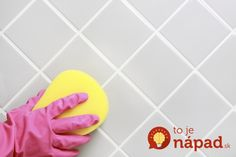 Hard water spots are hard to clean, and love to gather around tile, grout, faucets and much more. Here's how to remove those spots and make your bathroom sparkling clean again. Baking Soda Cleaning, Cleaning Recipes, Diy Cleaning Products, Cleaning Solutions, Cleaning Hacks, Deep Cleaning, Vinegar Cleaning Solution, Homemade Grout Cleaner, Hard Water Spots