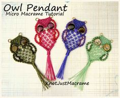 So You Want to Learn Micro Macrame?