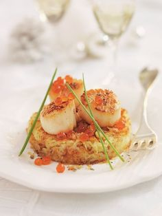 Dinner Party Recipes, Holiday Recipes, Seafood Recipes, Cooking Recipes, Food Plus, Buffet, Fish Dishes, Molecular Gastronomy, Fish And Seafood