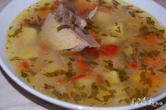 Romanian Food, Cream Soup, Cheeseburger Chowder, Salsa, Armenia, Ethnic Recipes, Soups, Soup, Salsa Music