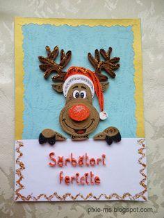 Papírvilág: handmade Christmas cards / kézműves karácsonyi üdvözletek