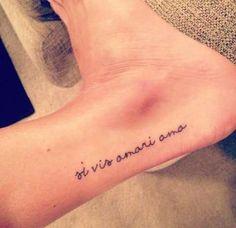 """Do latim: """"se deseja ser amado, ame""""! - Reprodução"""