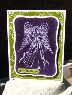 purple angel - Scrapbook.com