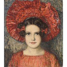 Franz von Stuck, Portrait of Artist's Daughter
