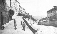 Trieste Via Romagna Trieste, Nostalgia, Street View, Pictures, Geography, Houses, Italia, Art, Belle Epoque