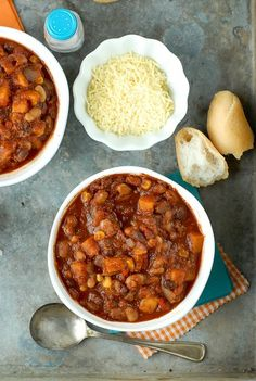 This Slow Cooker 3-Bean Winter Chili is one that will keep you warm and satisfied all winter long. An easy slow cooker chili like this is simple to make and oh so delicious.