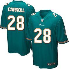 c6598b3e ... Miami Dolphins Nolan Carroll Jersey 28 Elite Nike Aqua Green Youth NFL  Jersey Sale Miami Dolphins 68 Richie Incognito ...