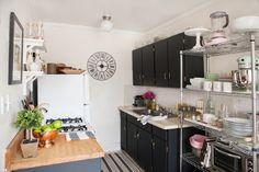El antes y después de una cocina de alquiler | Decorar tu casa es facilisimo.com