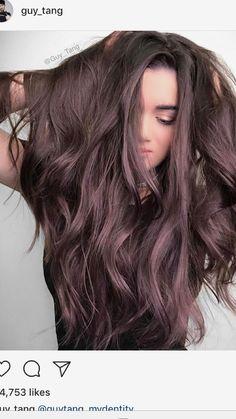 Ash chocolate #guytang #haircolor