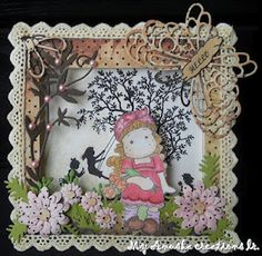 Beautiful shadow box card!