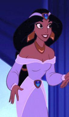 "Princess Jasmine (Linda Larkin) from Disney's ""Aladdin"""
