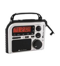 MIDLAND RADIO MID-ER102 Emergency Crank Weather Alert