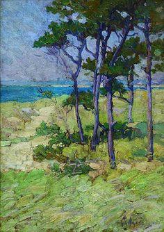 On Cape Cod, Massachusetts - George Loftus Noyes