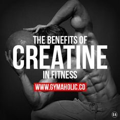 Check our NEW ARTICLE about the benefits of creatine in fitness.  This all you NEED to know !  http://www.gymaholic.co/supplements/creatine-benefits-and-side-effects  #fit #fitness #fitblr #fitspo #motivation #gym #gymaholic #workouts #nutrition #supplements