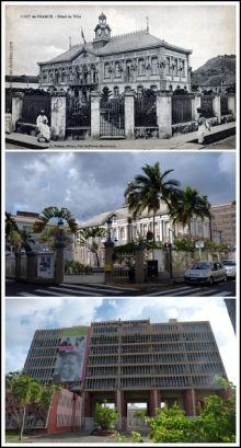 Fort-de-France hier et aujourd'hui