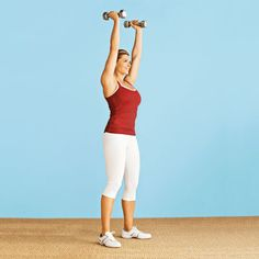 Biggest Loser trainer Kim Lyons muscle-building workout