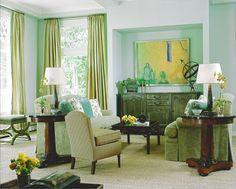 Living Room; Design by Shelley Gordon Interior Design