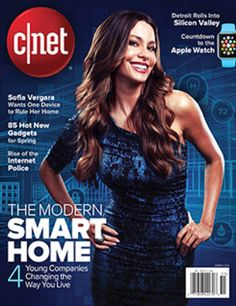 Cnet Magazine Spring 2015 - Sofia Vergara Cover - NEW Unopened & Unread Free Magazine Subscriptions, Now Magazine, Free Magazines, Sofia Vergara, Spring 2015, Free Stuff, Haiku, Free Samples, Ceiling Fan