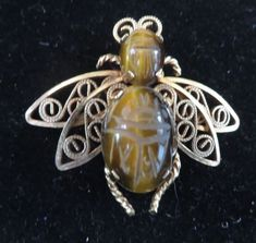 Vintage Winard 12K Gold Filled Scarab Bee Bug Pin Brooch | Jewelry & Watches, Vintage & Antique Jewelry, Costume | eBay!