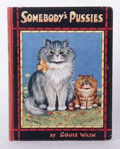 """""""Somebody's Pussies"""" by Louis Wain"""