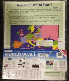 World War I. Posters and activity sheets are intended to be used as part of a teaching unit on World War I, including its causes, weapons, battles, and results. Call number: CH 113 1 1997