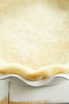This extra flaky gluten free pie crust rolls out beautifully. It's quick and easy to make with gluten free flour, and perfect for apple pie!
