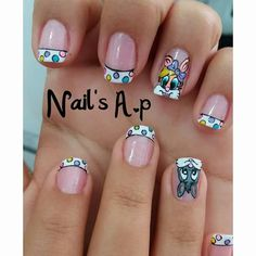 Easter Nail Art, Nails Inspiration, Manicure, Nail Designs, Lily, Chocolate, Disney, Animals, Beauty