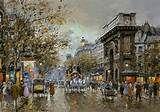 Porte St. Martin - Antoine Blanchard - WikiArt.org