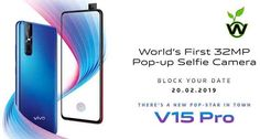 Vivo Pro Teaser Shows Pop-up Front Camera Mobile Phone Price, Mobile Phones, Finger Print Scanner, Note 7, Up Front, Camera Phone, Teaser, Pop Up, Smartphone