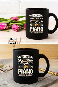 a19c861b Music Reading Savant on Pinterest. I love this funny, but so true black  coffee mug with a hilarious saying for ...