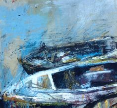 The rotting boat corpses of Anstruther Harbour.