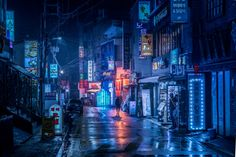 Ultraviolet Break of Day: Soju infused lucid dreams in Seoul.  by FIELD.IO