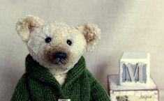 Teddy bear Teddy Bear toys handmade gift handmade gift collectible toy author's toy artist Teddy bear Teddy bear in a jacket