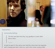The first and last time they say goodbye face to face .gif set.