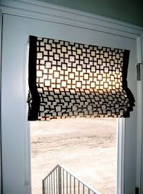 a little sparkle: My $4 Window Covering