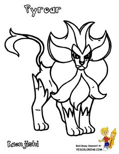 Pokemon Cartoon Pikachu Coloring Pages COLORING SHEET