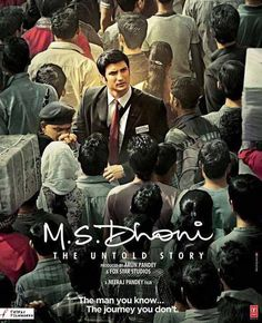 MS Dhoni: The Untold Story poster  Sushant Singh Rajput looks compelling as a TTE