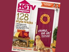 Check out Sophie the golder retriever on the cover of HGTV Magazine's November 2014 issue! #hgtvmagazine http://blog.hgtv.com/design/2014/10/13/november-issue-of-hgtv-magazine-on-stands-tomorrow/?soc=pinterest