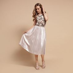 Sahara Sunset Lookbook Midi Skirt, Sequin Skirt, Forever New, Prom Dresses, Formal Dresses, Pink Quartz, My Wardrobe, New Outfits, Ballet Skirt