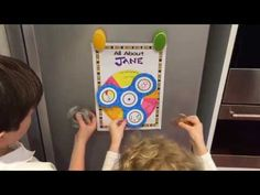 Fidget Spinner All About me craft Activity - YouTube