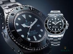 Rolex watch watches DeepSea Deep sea water beauty éditorial style life perfect advertising Luxury blue hasselblad studio détail goute d'eau www.lowweakness.ch