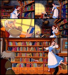 Belle Library Beauty And The Beast