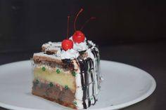 Black forest cake from corner bakery Karaikudi Tamil Nadu