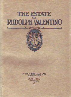 valentino rudy catalogue